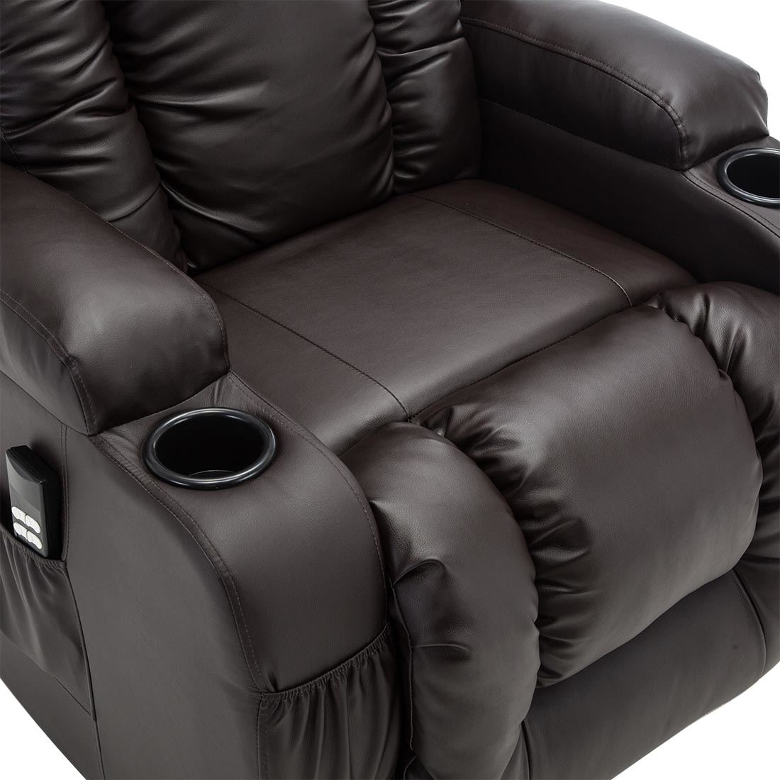CAESAR-DUAL-MOTOR-RISER-RECLINER-LEATHER-MOBILITY-ARMCHAIR-MASSAGE-HEATED-CHAIR thumbnail 15