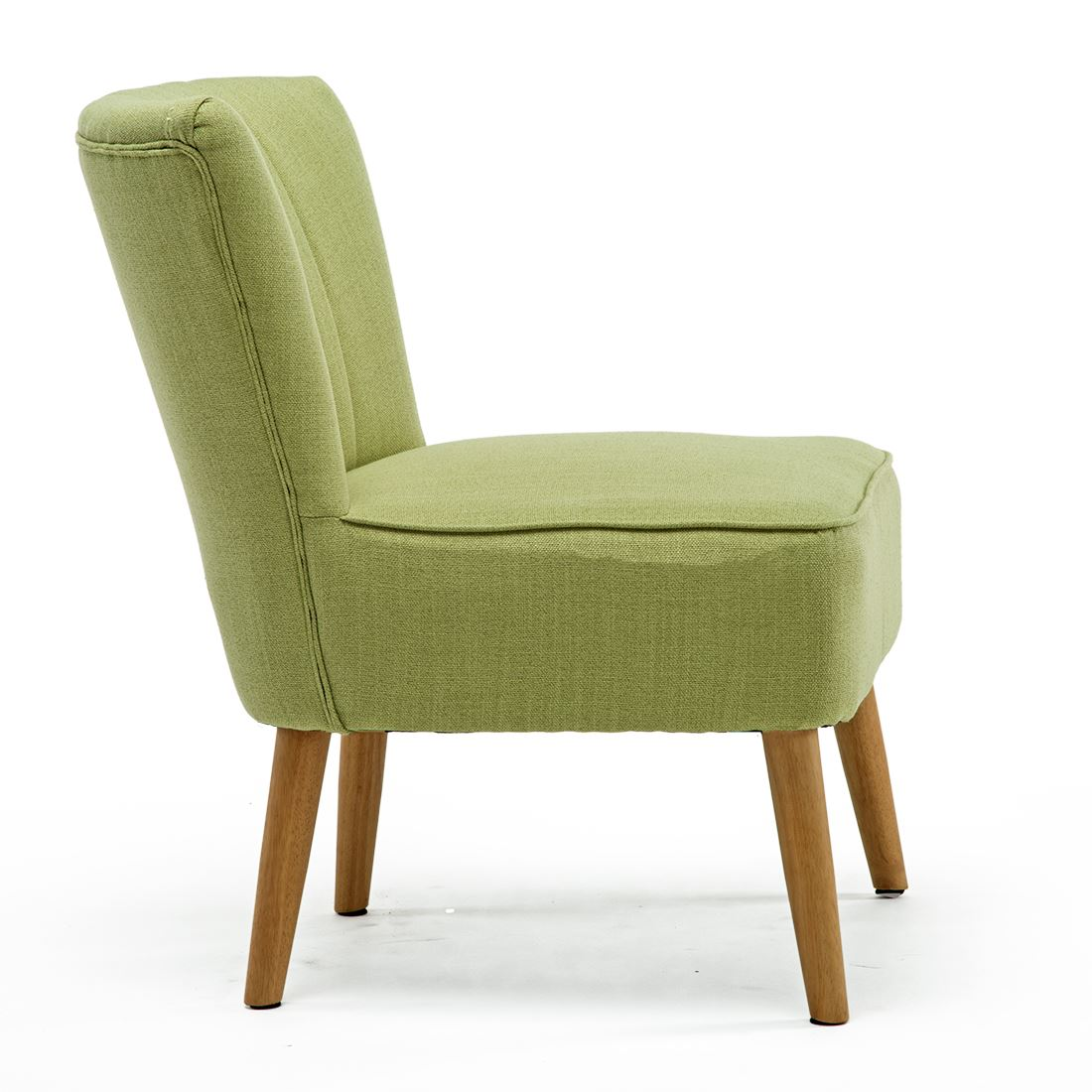 Ayla-Linen-Retro-Occasional-Hallway-Bedroom-Living-Room-Accent-Chair-Fabric-Tub thumbnail 21