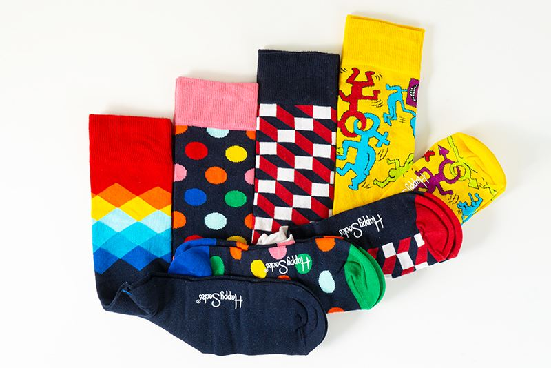 thumbnail 20 - Mens Gift Boxed Socks Happy Socks 4 Pair Pack DAD FATHERS DAY Size 7½ – 11½ UK
