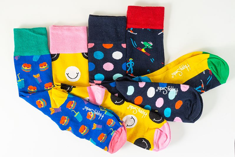 thumbnail 12 - Mens Gift Boxed Socks Happy Socks 4 Pair Pack DAD FATHERS DAY Size 7½ – 11½ UK