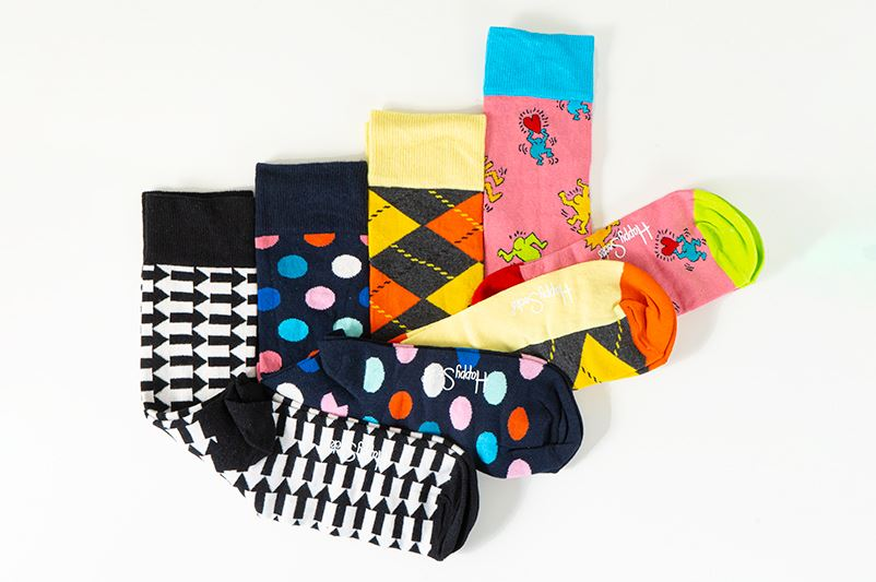 thumbnail 17 - Mens Gift Boxed Socks Happy Socks 4 Pair Pack DAD FATHERS DAY Size 7½ – 11½ UK