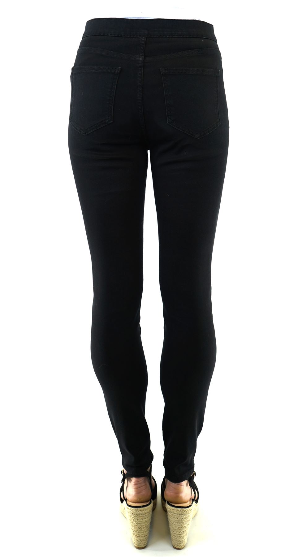 thumbnail 37 - Karen Millen Womens Casual Black Denim Button Jegging Ladies Jean Stylish Gift