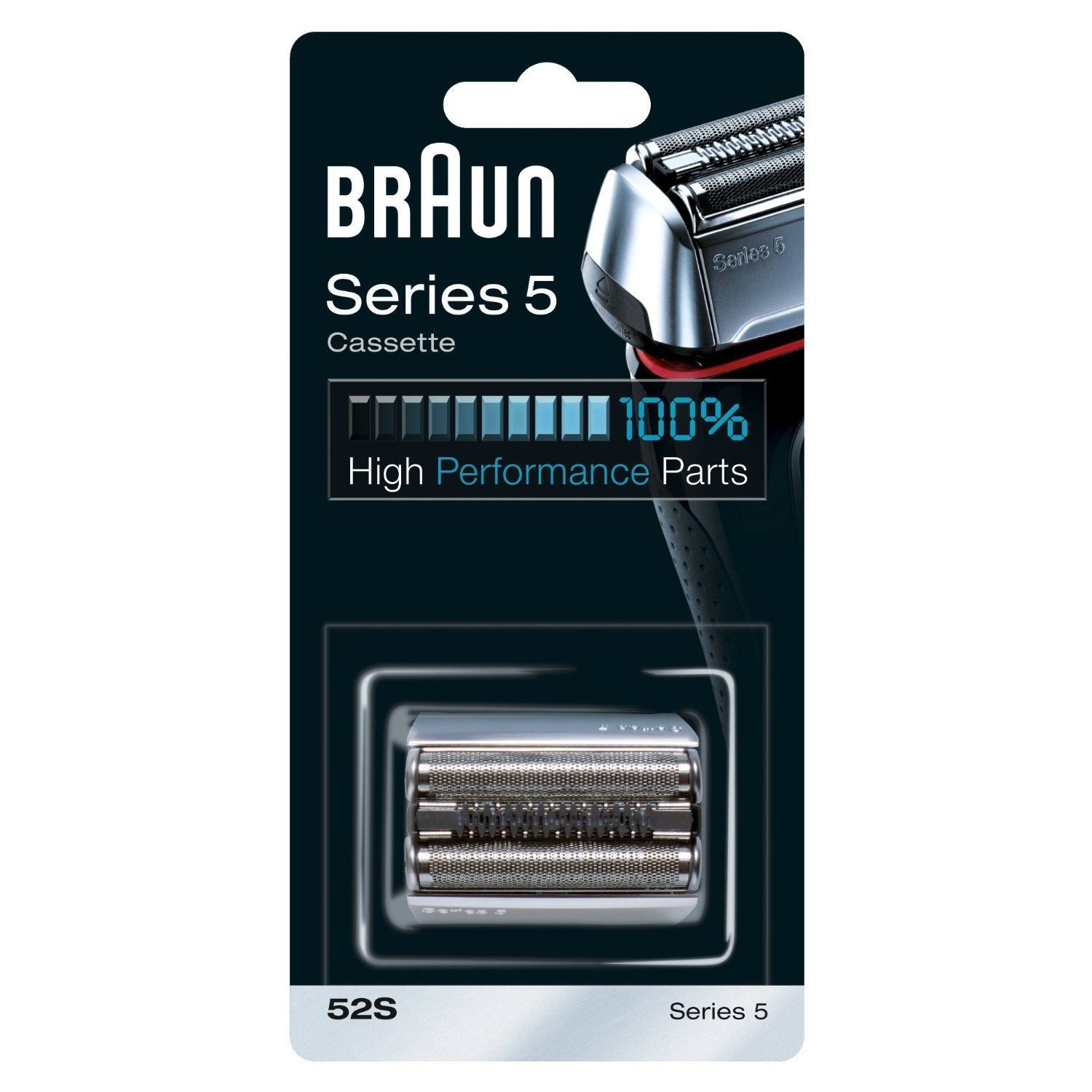 braun combi 52s cassette replacement foil cutter pack for series 5 men shavers ebay. Black Bedroom Furniture Sets. Home Design Ideas