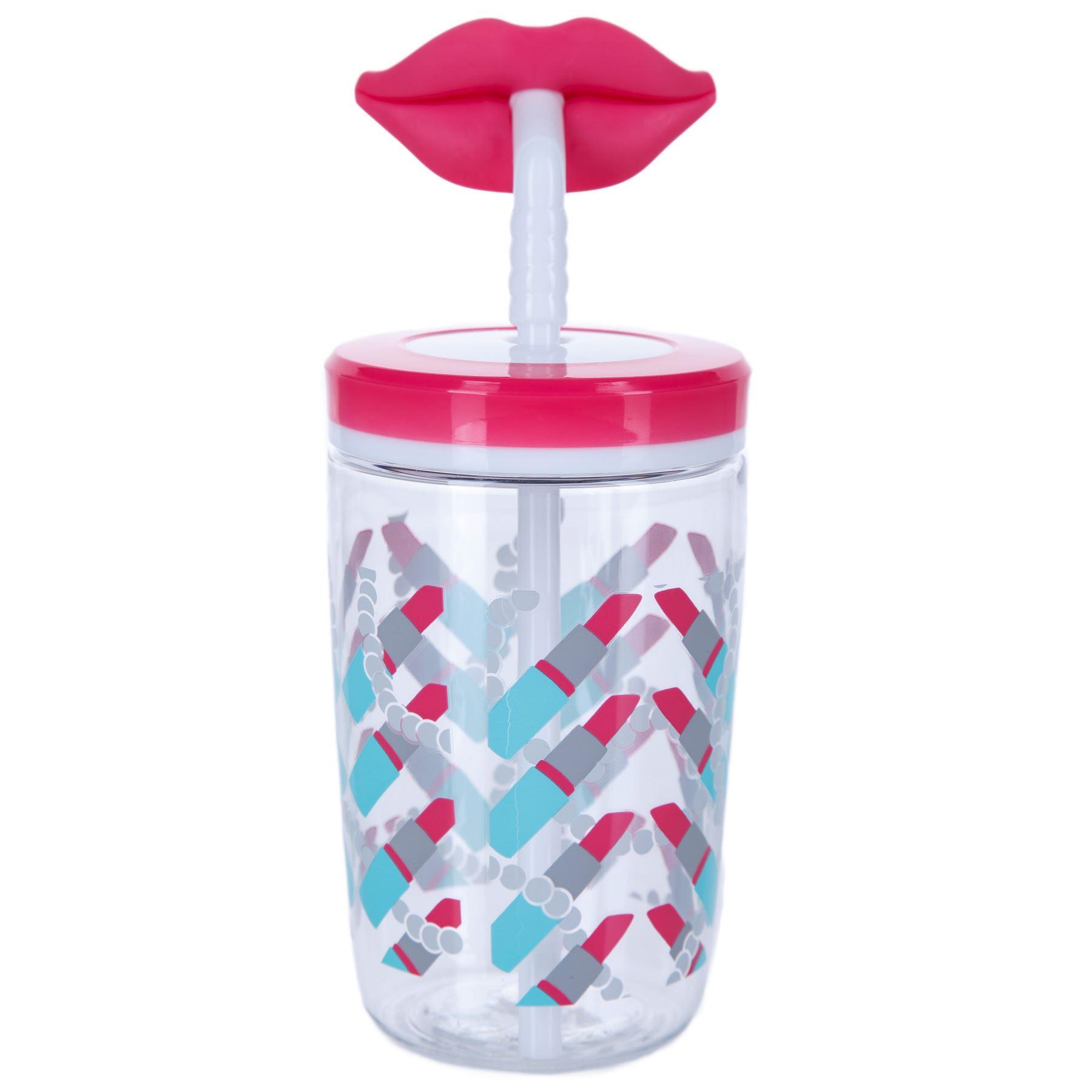 Children Tumbler 400 ml Zak Designs Drinking Cup with Straw Fireman Sam