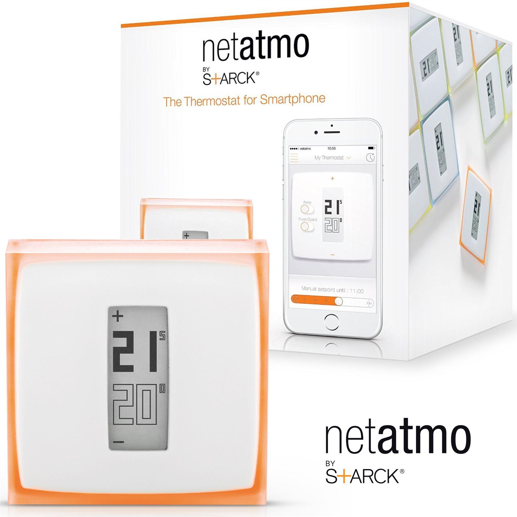 netatmo heizung thermostat f r smartphone mobile kontrolle. Black Bedroom Furniture Sets. Home Design Ideas
