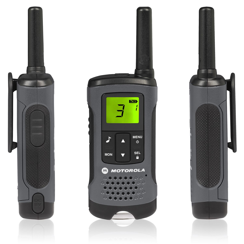 4 Motorola TLKR-T60Z Walkie Talkie PMR446 Rechargeable ... Рация Моторола
