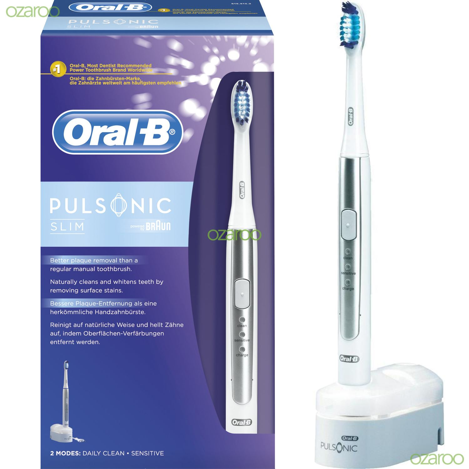Apologise that, braun and oral b impossible