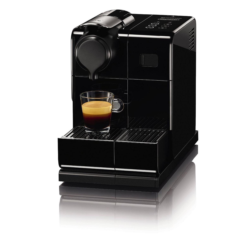 de 39 longhi nespresso lattissima touch automatic coffee pod machine black en550 b. Black Bedroom Furniture Sets. Home Design Ideas