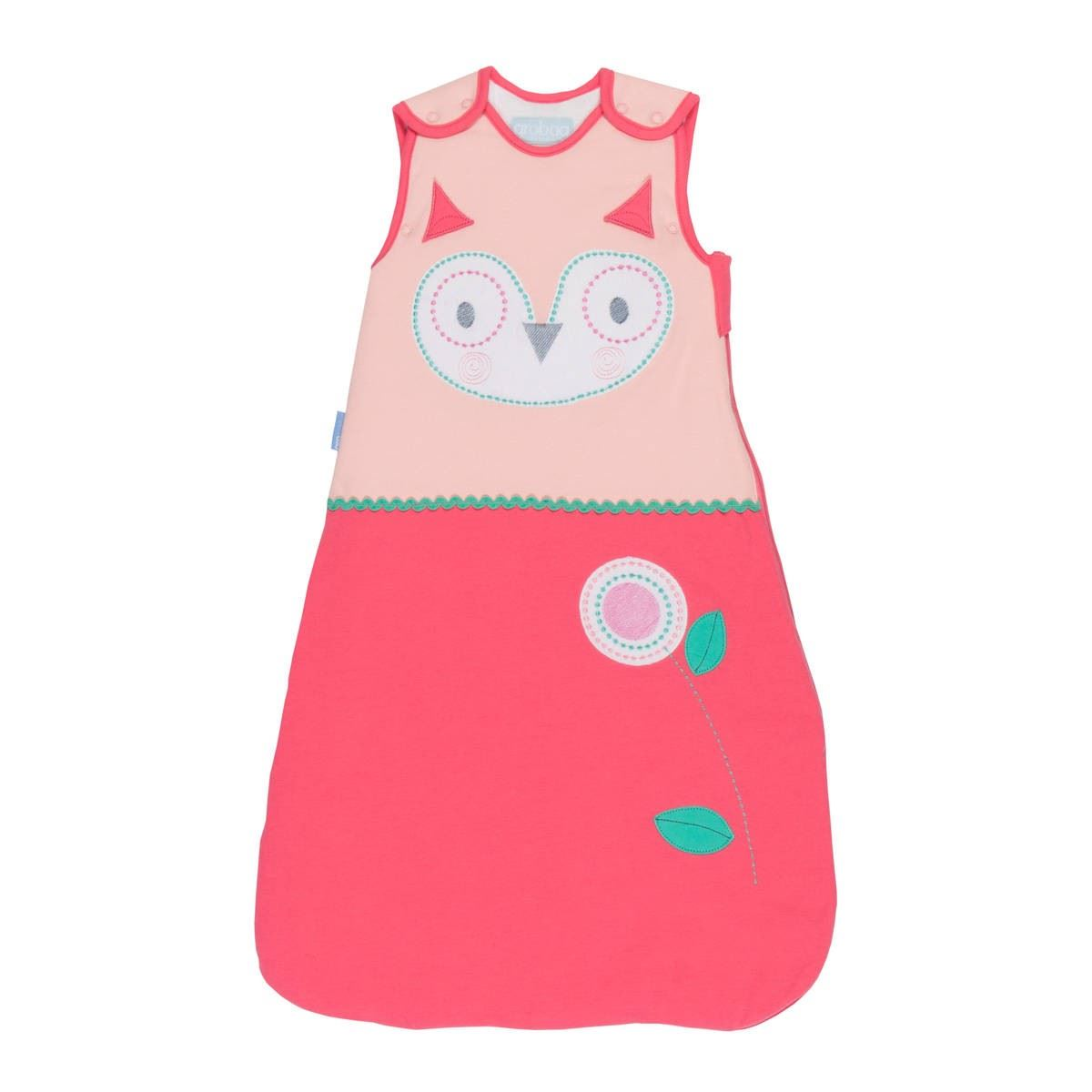 the gro company what a hoot baby grobag sleeping bag sack cotton 18 36m 1 0 tog ebay. Black Bedroom Furniture Sets. Home Design Ideas