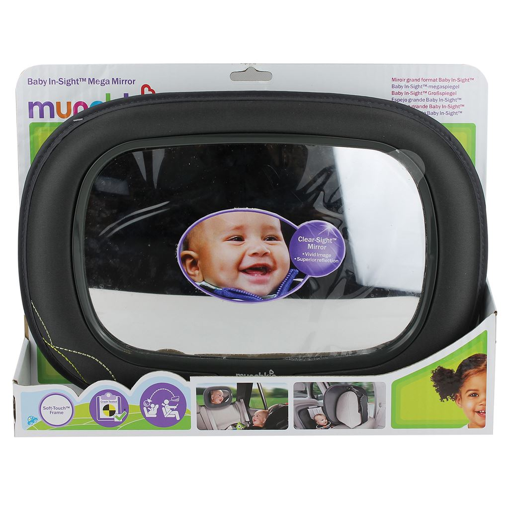 New Munchkin In Sight Car Travel Safety Shatter Resistant