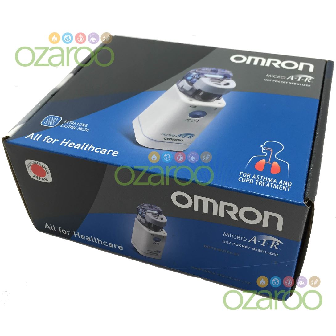 omron microair ne u22 portable handheld travel pocket compressor nebulizer case cad. Black Bedroom Furniture Sets. Home Design Ideas