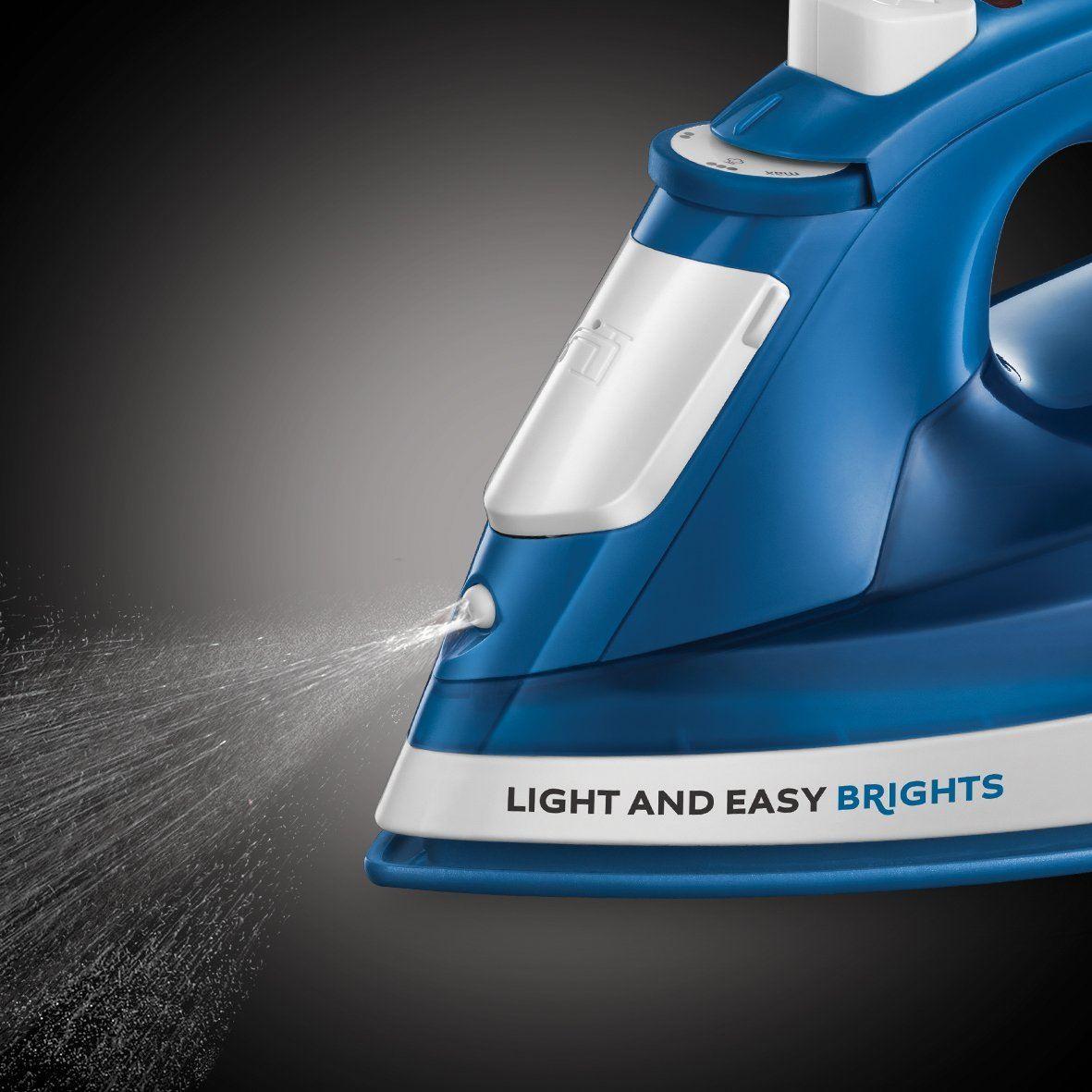 Russell-Hobbs-24840-LIGHT-amp-EASY-brillants-Fer-a-vapeur-avec-Ceramique-Semelle-2400-W