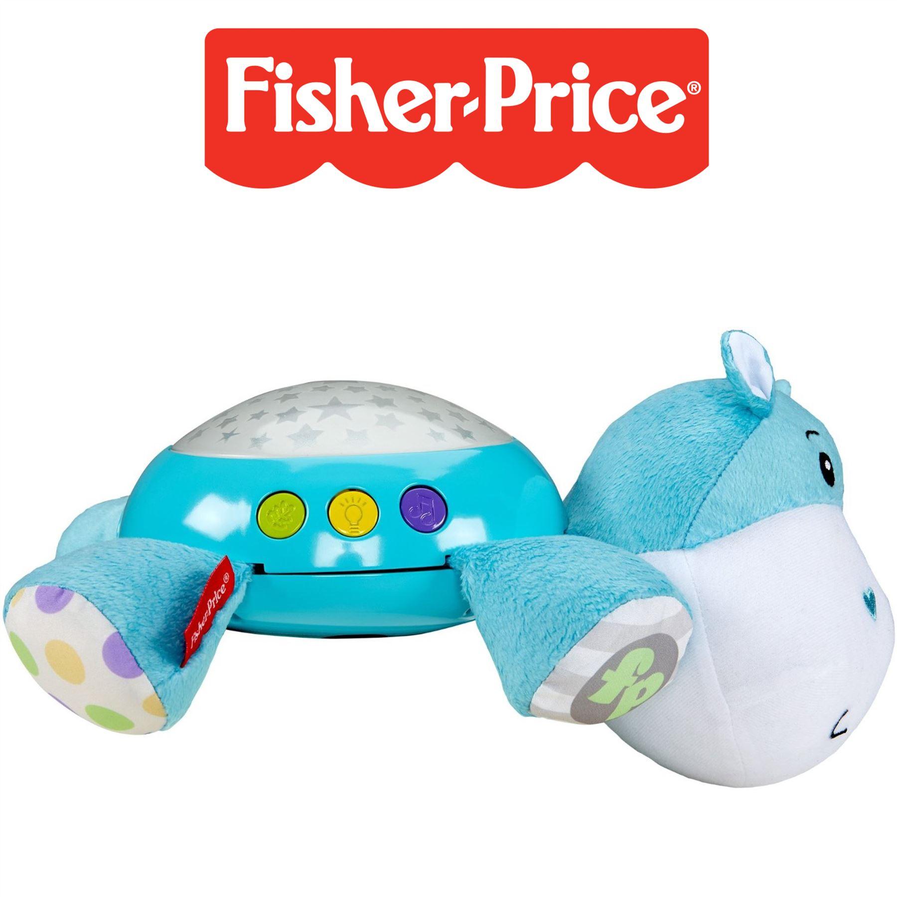 fisher price hippo pl sch projektion nachtlicht musical. Black Bedroom Furniture Sets. Home Design Ideas
