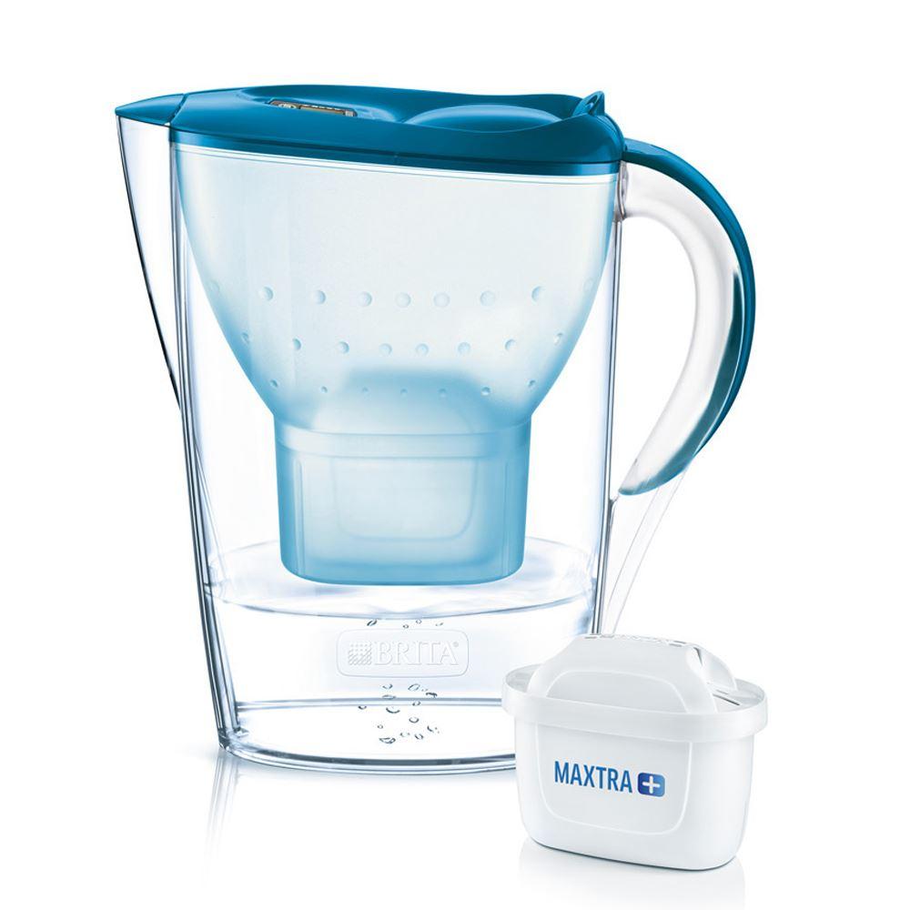 BRITA-Marella-Cool-Maxtra-2-4L-Caraffa-filtrante-per-frigorifero-CARTUCCIA-8-COLORI