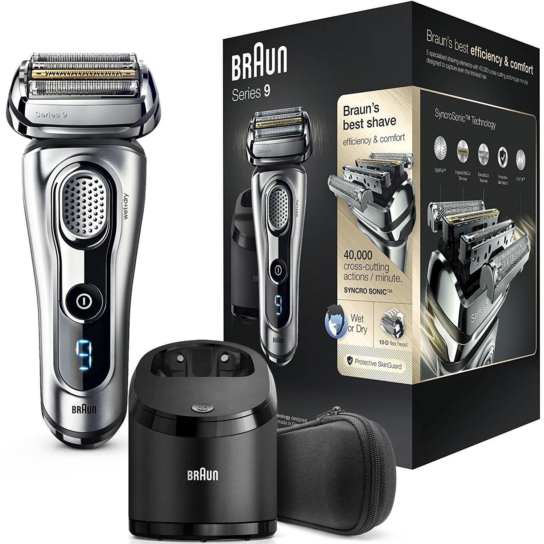 braun series 9 9290cc mens electric foil shaver trimmer. Black Bedroom Furniture Sets. Home Design Ideas