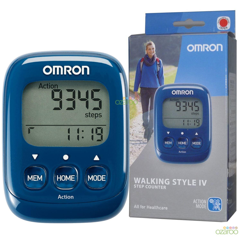 Omron Walking Style Iv Esercizio Passo Caloria Contatore Activity Monitor Contapassi-