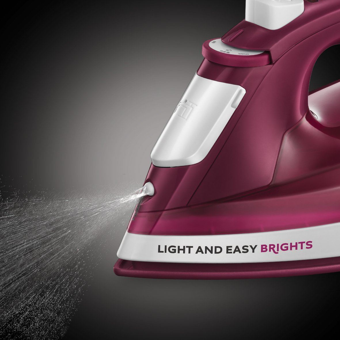 Russell-Hobbs-24840-Light-amp-Easy-Brights-Steam-Iron-with-Ceramic-Soleplate-2400W thumbnail 22