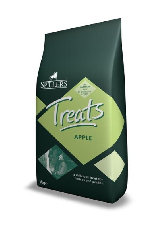 Spillers - Apple Horse Treats 1 Kg Bag x Size  8 Bulk Buy