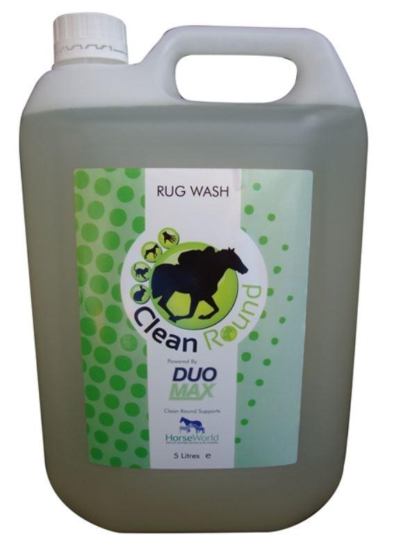 Clean Round - Fragranced Horse Horse Horse Rug Wash x Größe: 5 Lt 4820db