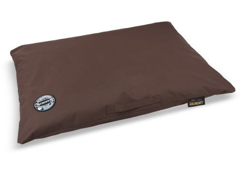 Scruffs - Expedition Memory Foam Orthopaedic Dog Pillow Chocolate x Size  Large