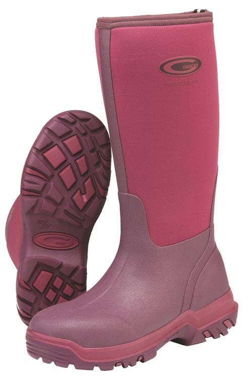Grubs - Frostline Field Boots x Size  Fuchsia Size 3