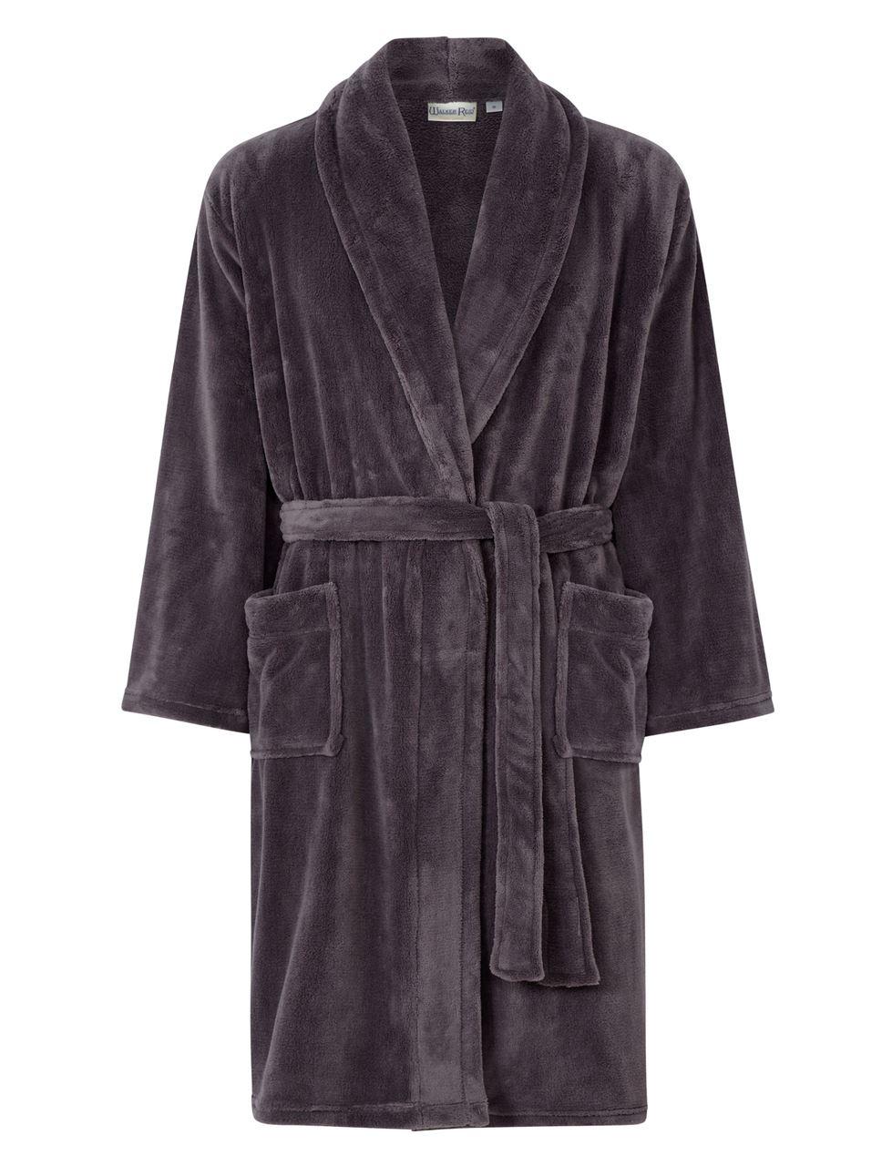 ITEM DETAILS. Walker Reid 49   length plain flannel fleece dressing gown. 32f5b188f
