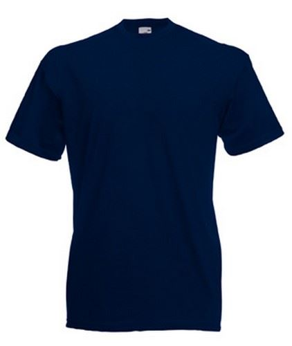 5 or 3 pack mens fruit of the loom 100 cotton plain tee for Plain t shirt pack