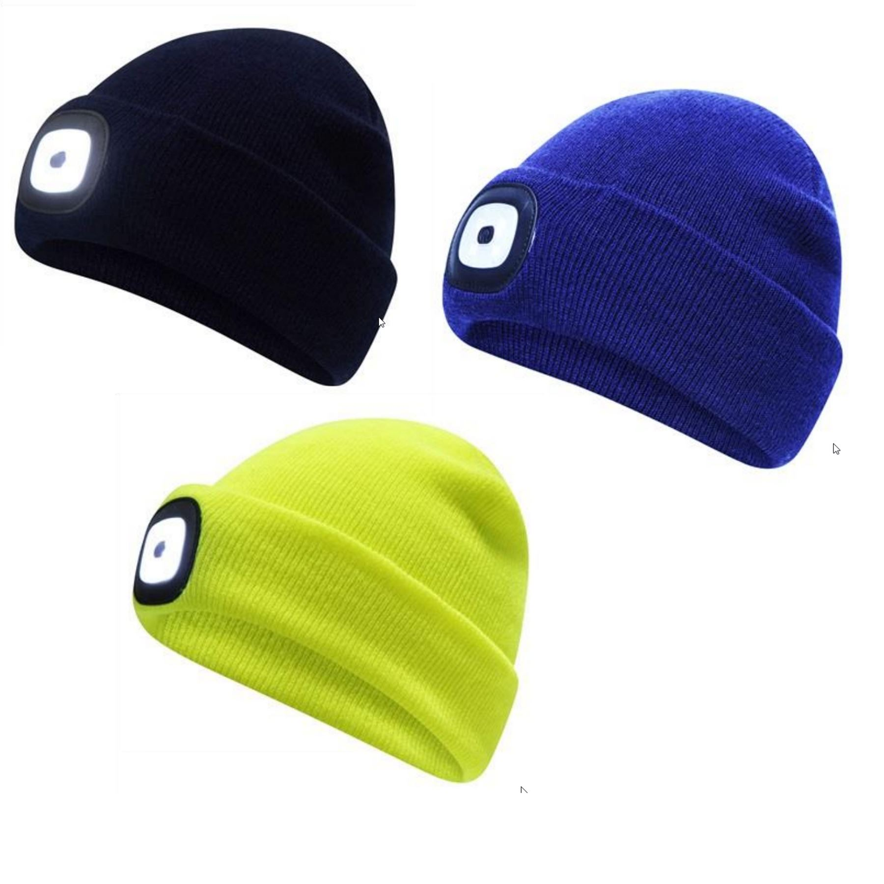 Details about Pro Climate Performance Apparel Unisex Adults Built-In LED Head  Torch Beanie Hat 0f5052b7b10
