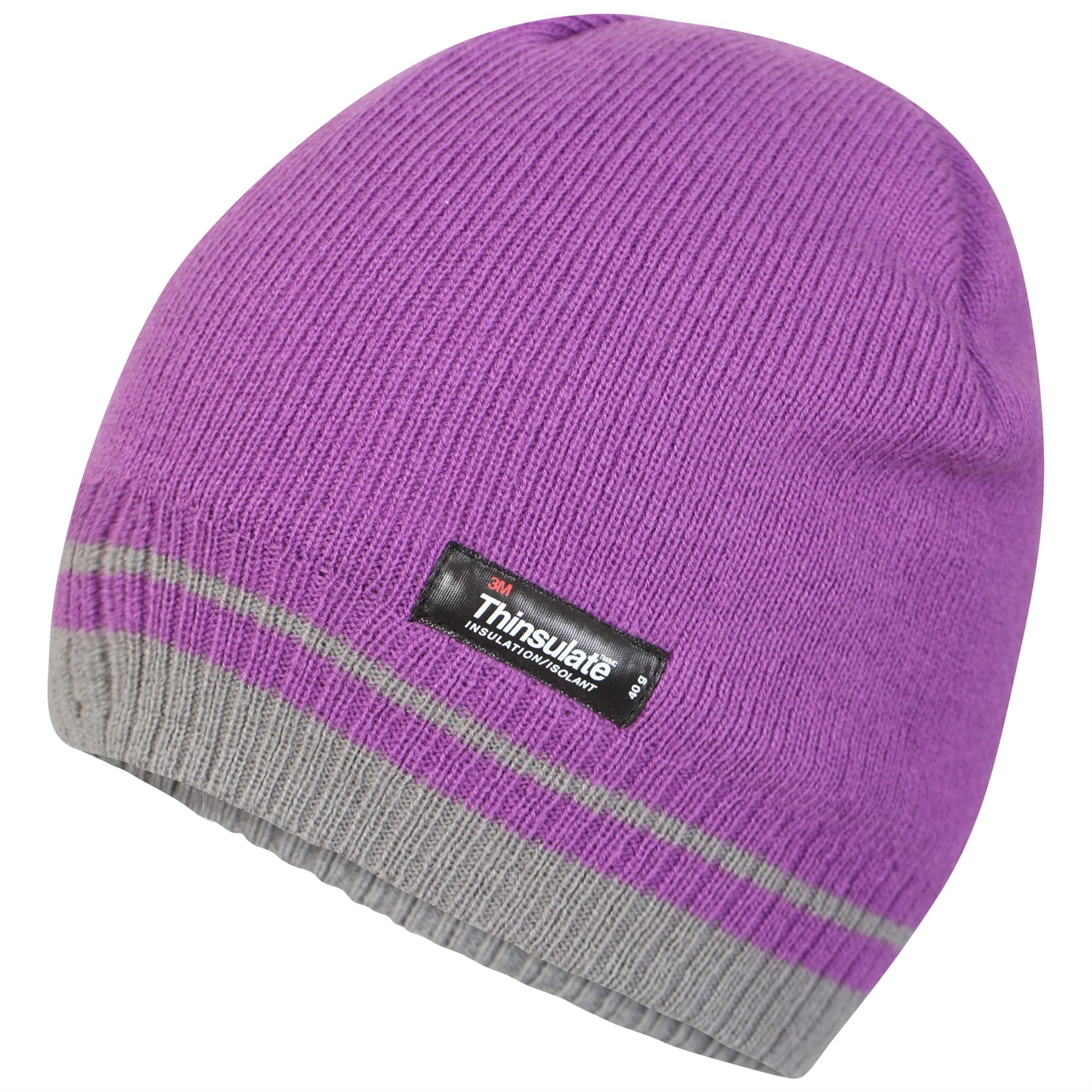 2162038d2de74 Pro Climate Womens Hat Ladies Thinsulate Striped Beanie One Size ...