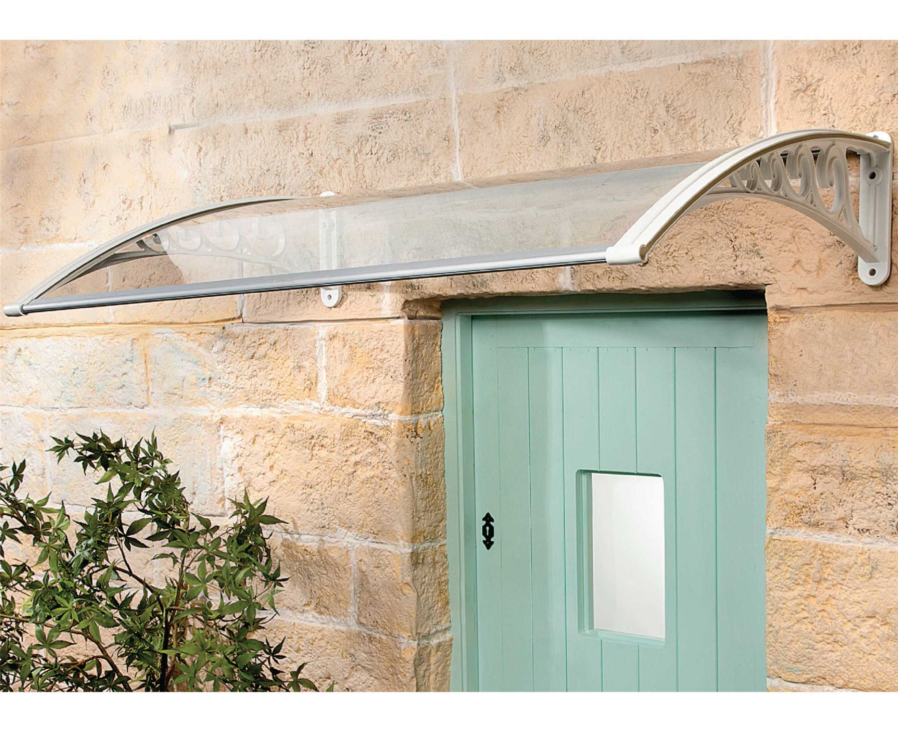 Bergman-Instant-Fit-Front-Door-Canopy-Rain-Cover- & Bergman Instant Fit Front Door Canopy Rain Cover Awning Porch Sun ...