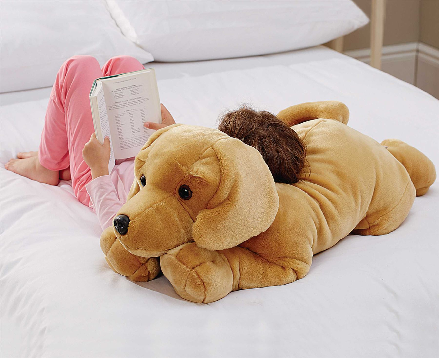 Dog Body Pillow Acrylic Plush Soft Kids Children Toy Bedroom ...
