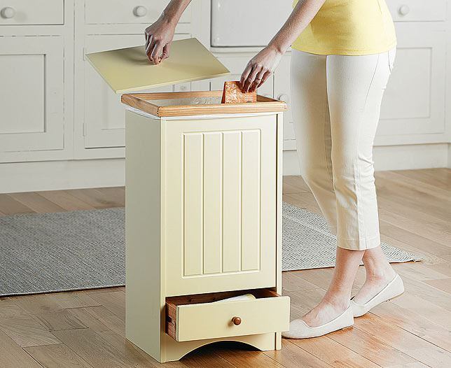 Cotswold Collection Drawered Kitchen Waste Dust Bin