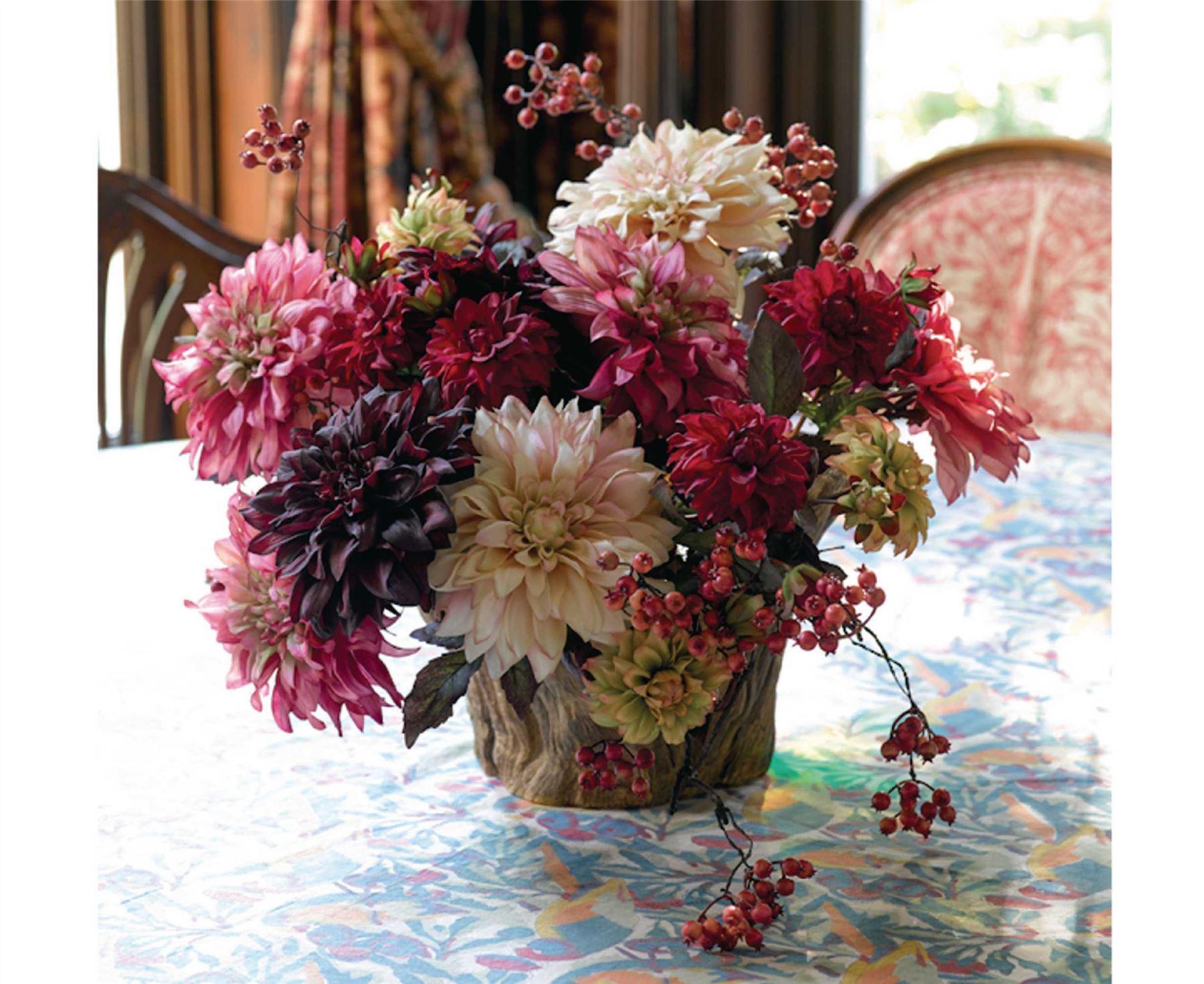 Bloom dahlia stem ava artificial flower arrangement floral home bloom dahlia stem ava artificial flower arrangement floral home decoration izmirmasajfo