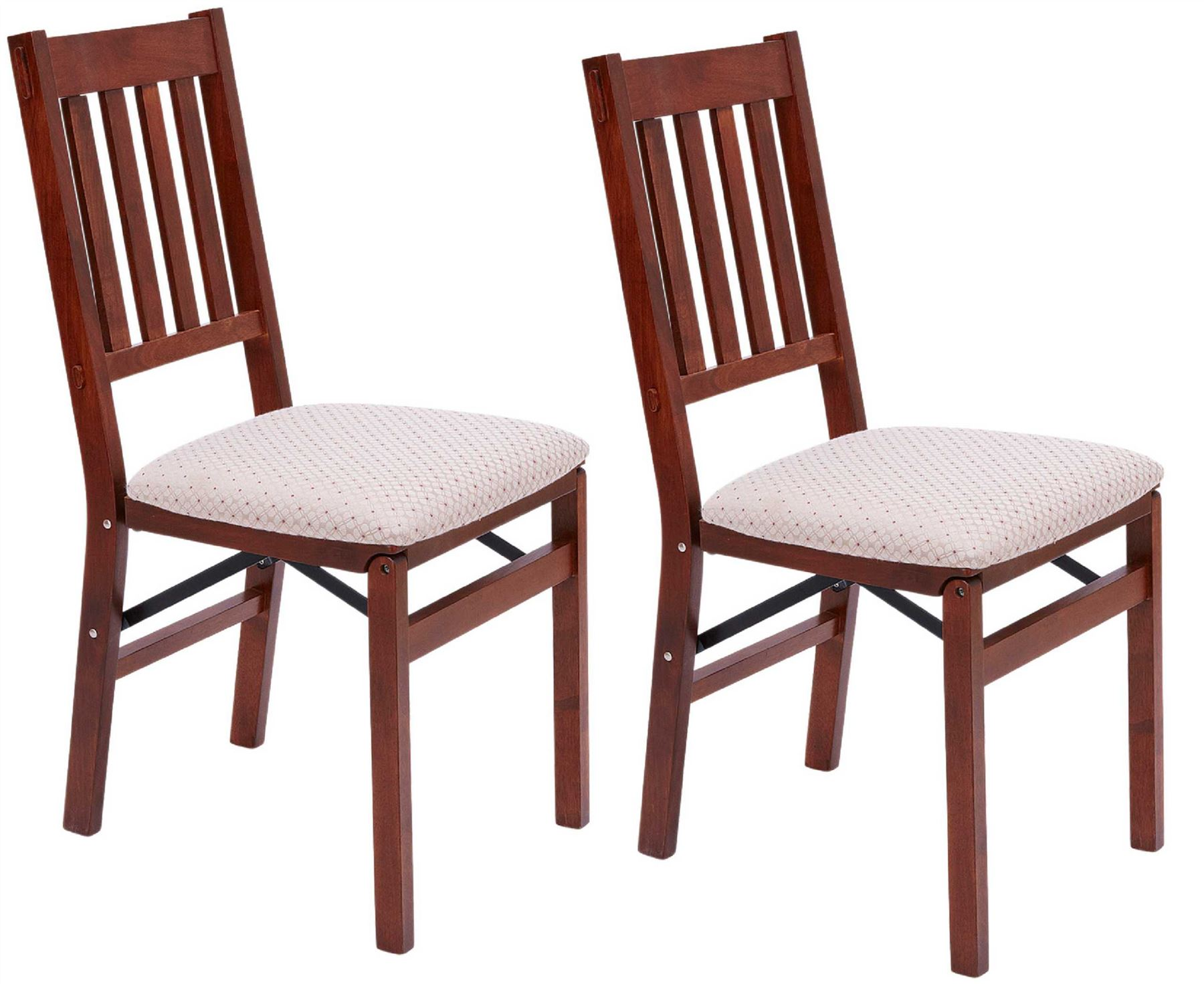 Arts and crafts folding dining chairs 2x solid