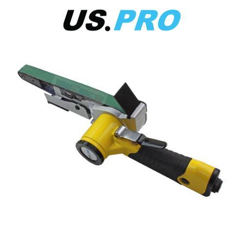 3 x 330mm x 10mm Belts 8325 US PRO 10mm Variable Speed Air Belt Sander