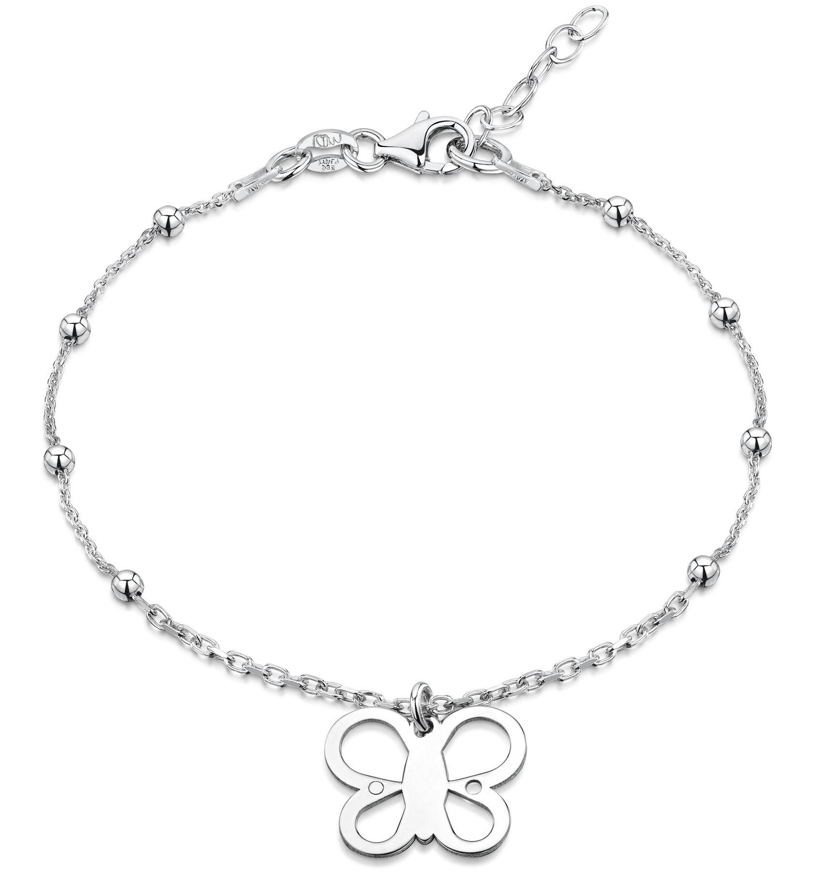 Amberta-Jewelry-925-Sterling-Silver-Adjustable-Bracelet-Italian-Bangle-for-Women thumbnail 47
