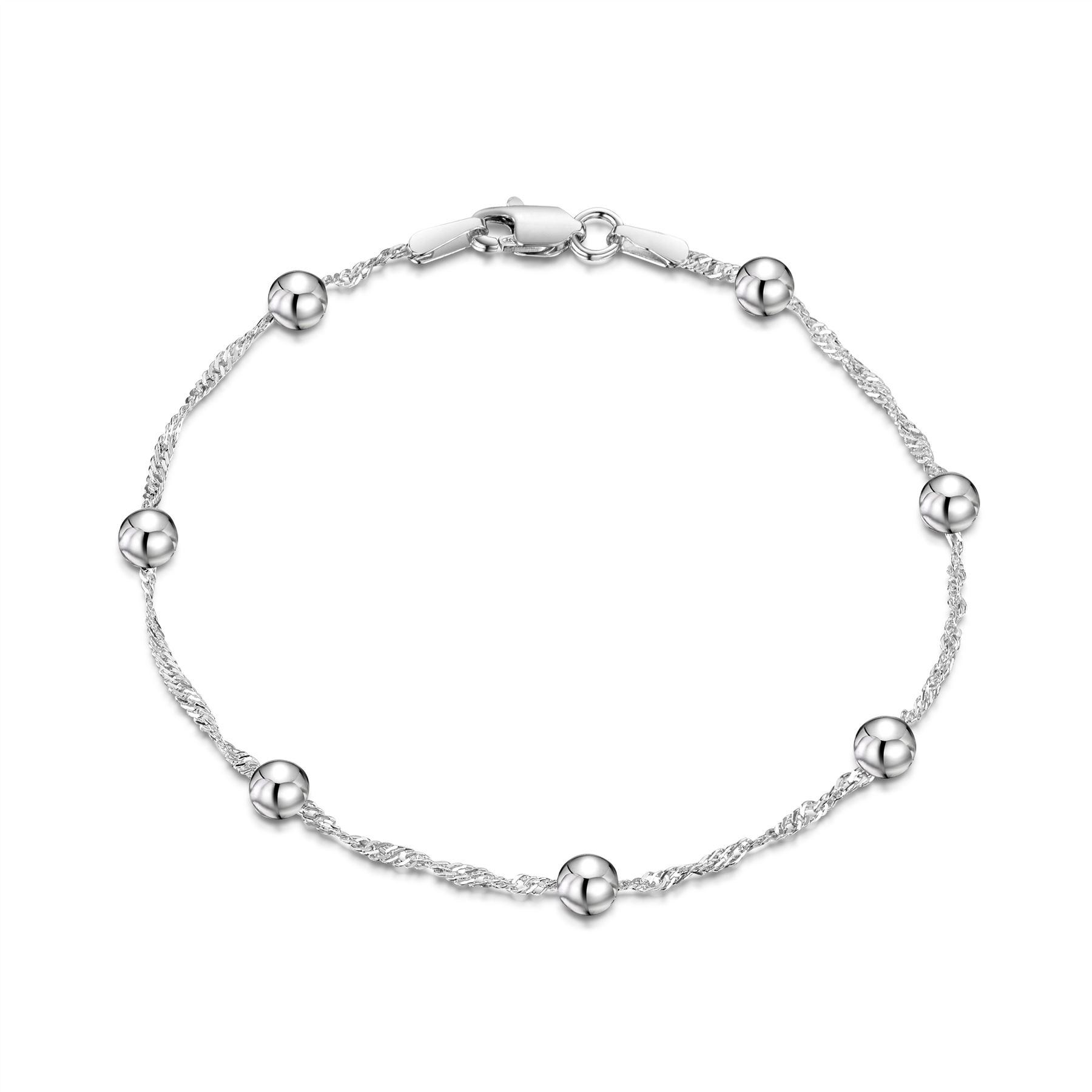 Amberta-Pulsera-en-Autentica-Plata-De-Ley-925-Brazalete-Precioso-para-Mujer miniatura 17