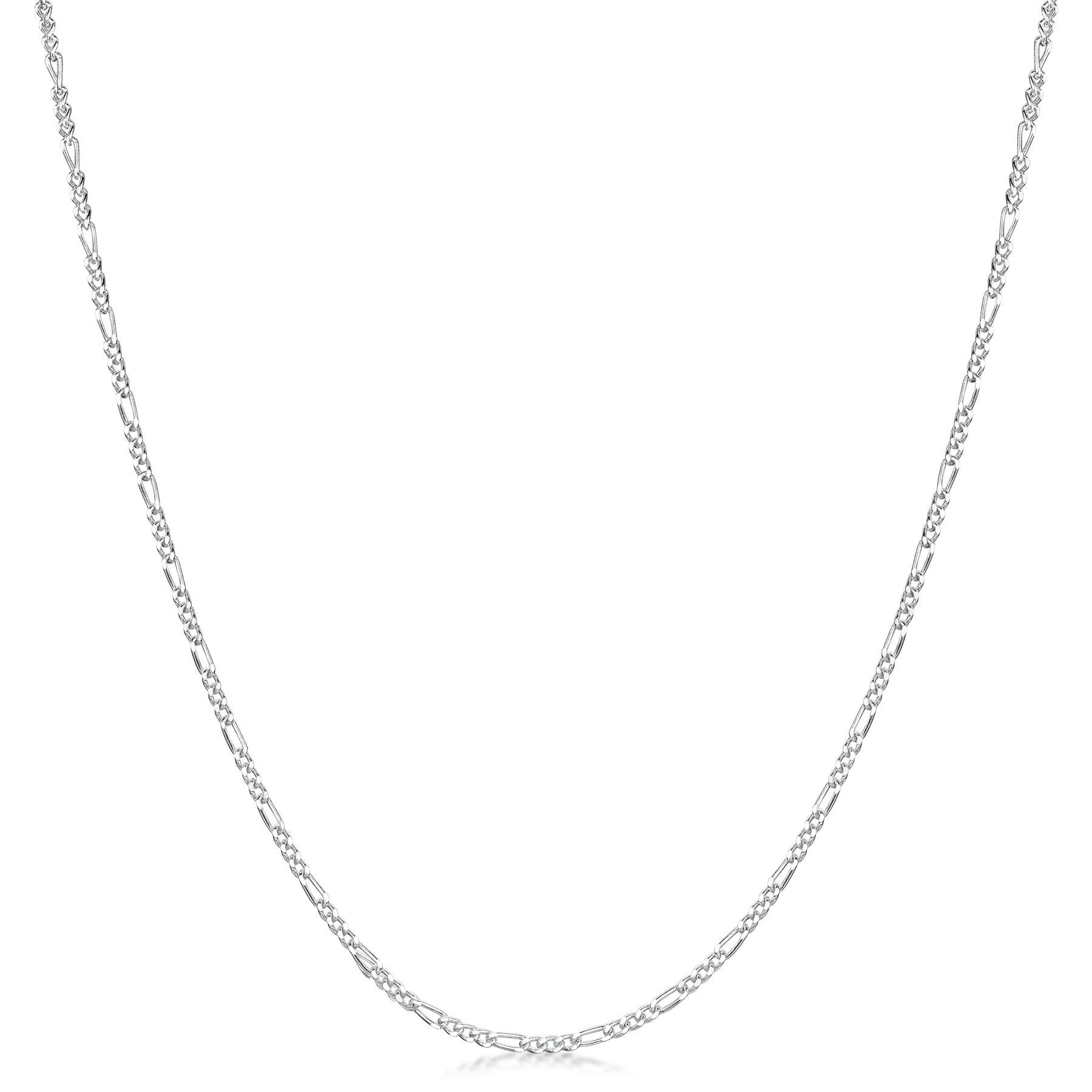 Amberta-Collar-en-Plata-De-Ley-925-Autentica-Cadena-para-Mujer-y-Hombre-Italiana miniatura 57