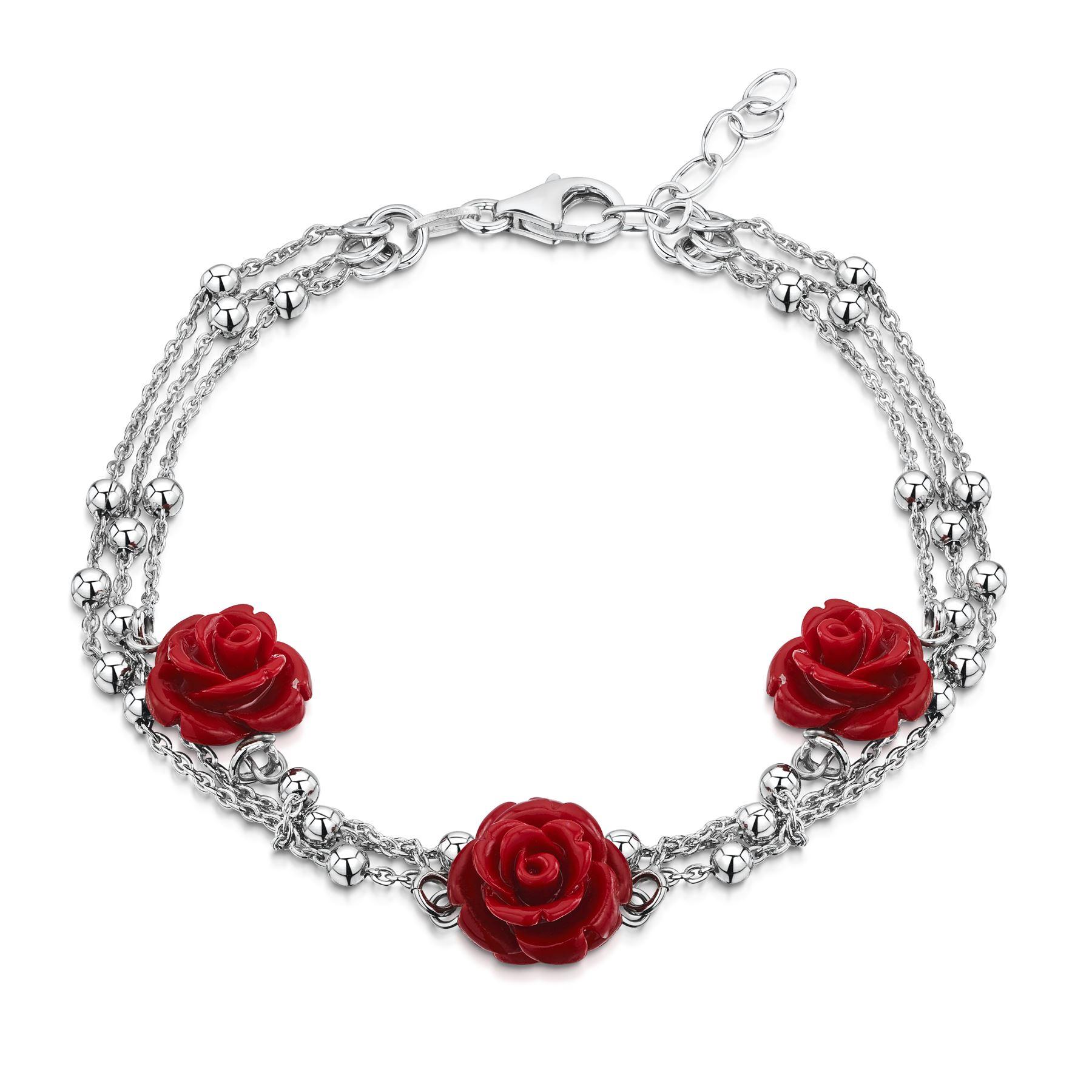 Amberta-Jewelry-925-Sterling-Silver-Adjustable-Bracelet-Italian-Bangle-for-Women thumbnail 23