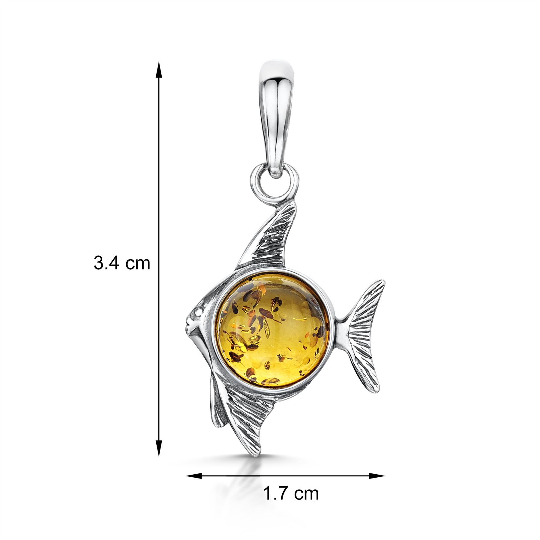 Amberta-Genuine-925-Sterling-Silver-Pendant-with-Natural-Baltic-Amber-Gemstone thumbnail 83