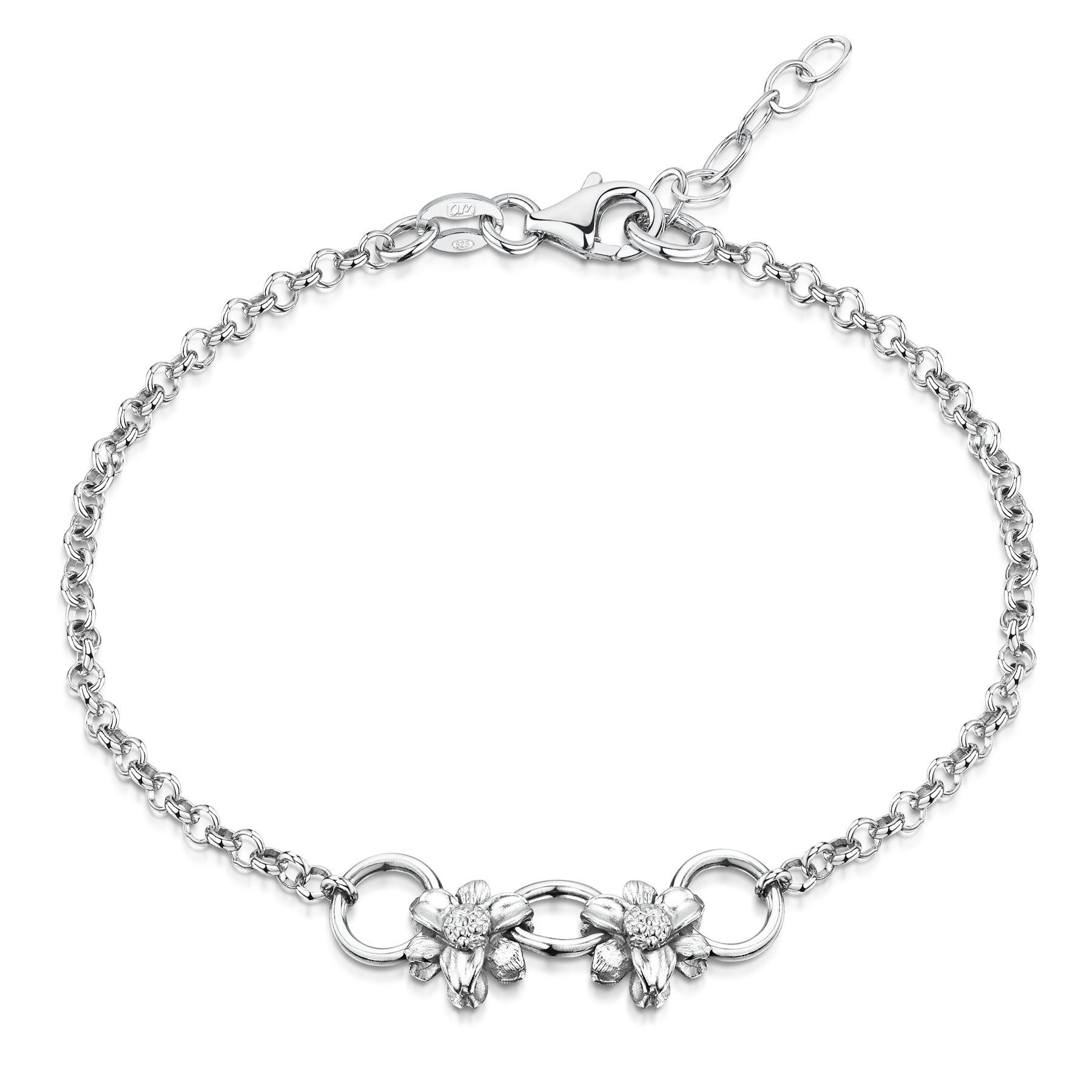Amberta-Jewelry-925-Sterling-Silver-Adjustable-Bracelet-Italian-Bangle-for-Women thumbnail 77