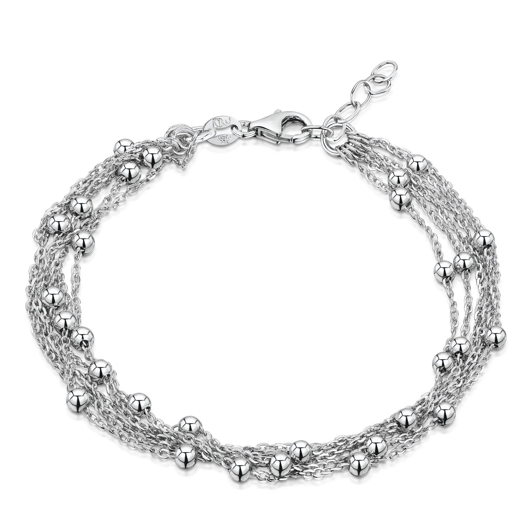Amberta-Jewelry-925-Sterling-Silver-Adjustable-Bracelet-Italian-Bangle-for-Women thumbnail 26