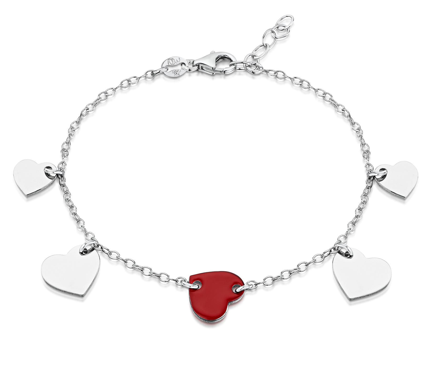 Amberta-Jewelry-925-Sterling-Silver-Adjustable-Bracelet-Italian-Bangle-for-Women thumbnail 53