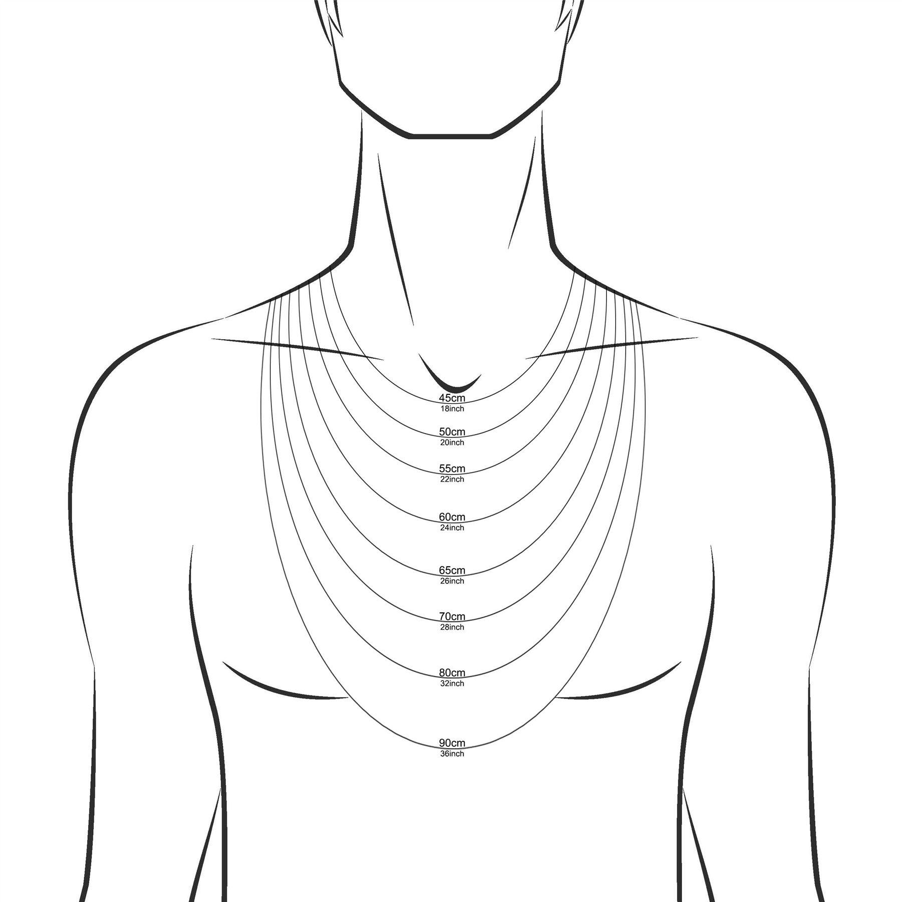 Amberta-Collar-en-Plata-De-Ley-925-Autentica-Cadena-para-Mujer-y-Hombre-Italiana miniatura 108