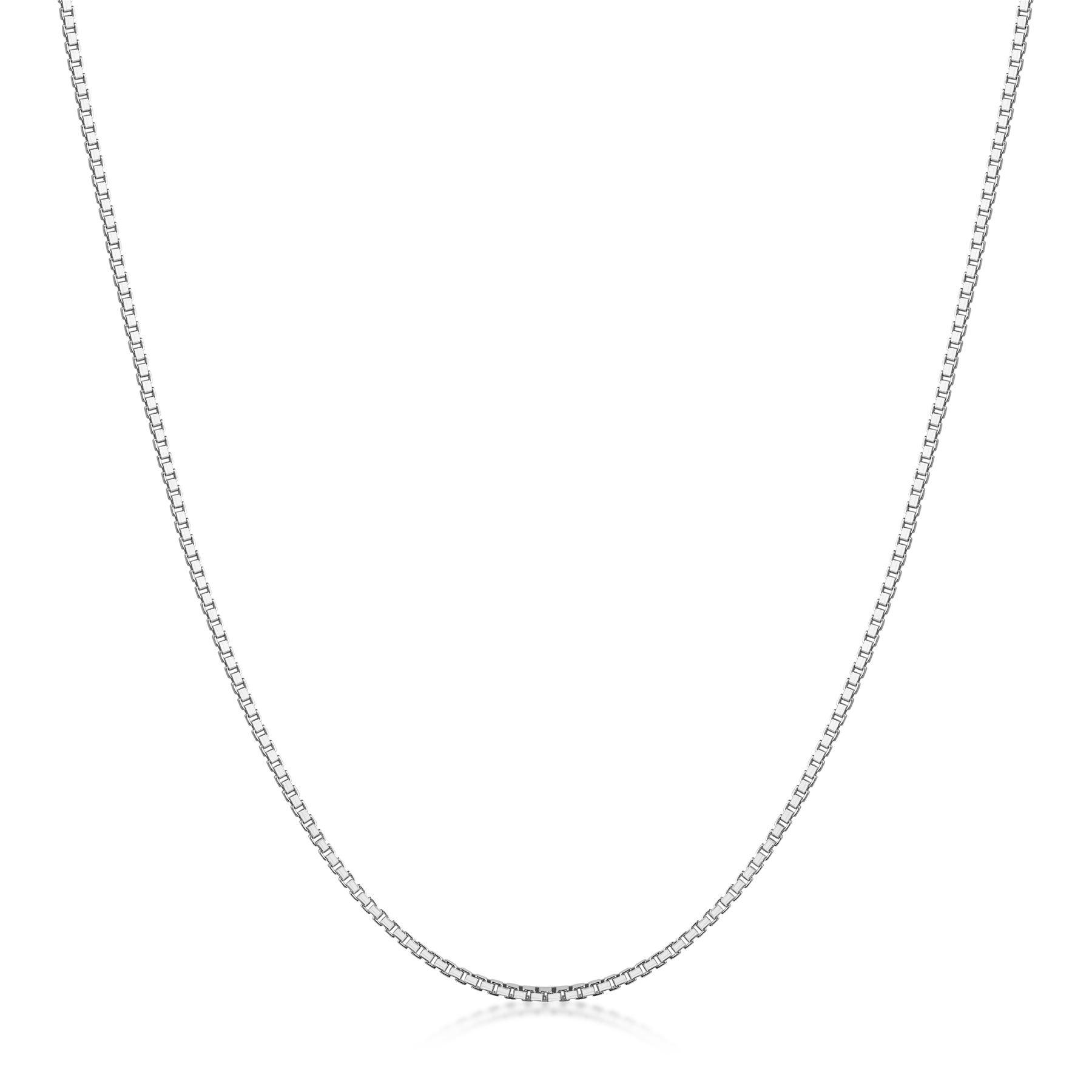 Amberta-Collar-en-Plata-De-Ley-925-Autentica-Cadena-para-Mujer-y-Hombre-Italiana miniatura 17