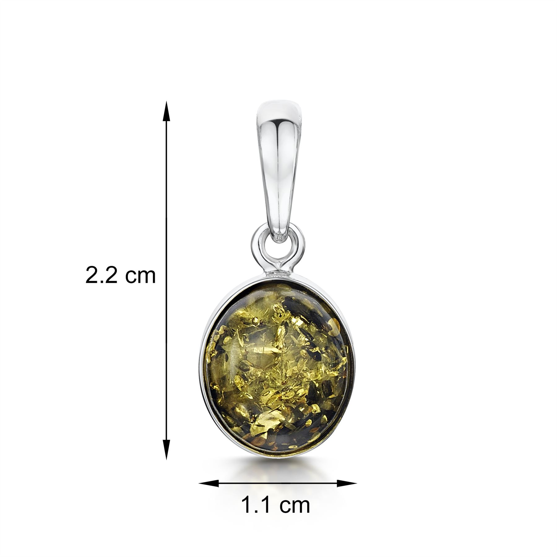 Amberta-Genuine-925-Sterling-Silver-Pendant-with-Natural-Baltic-Amber-Gemstone thumbnail 9