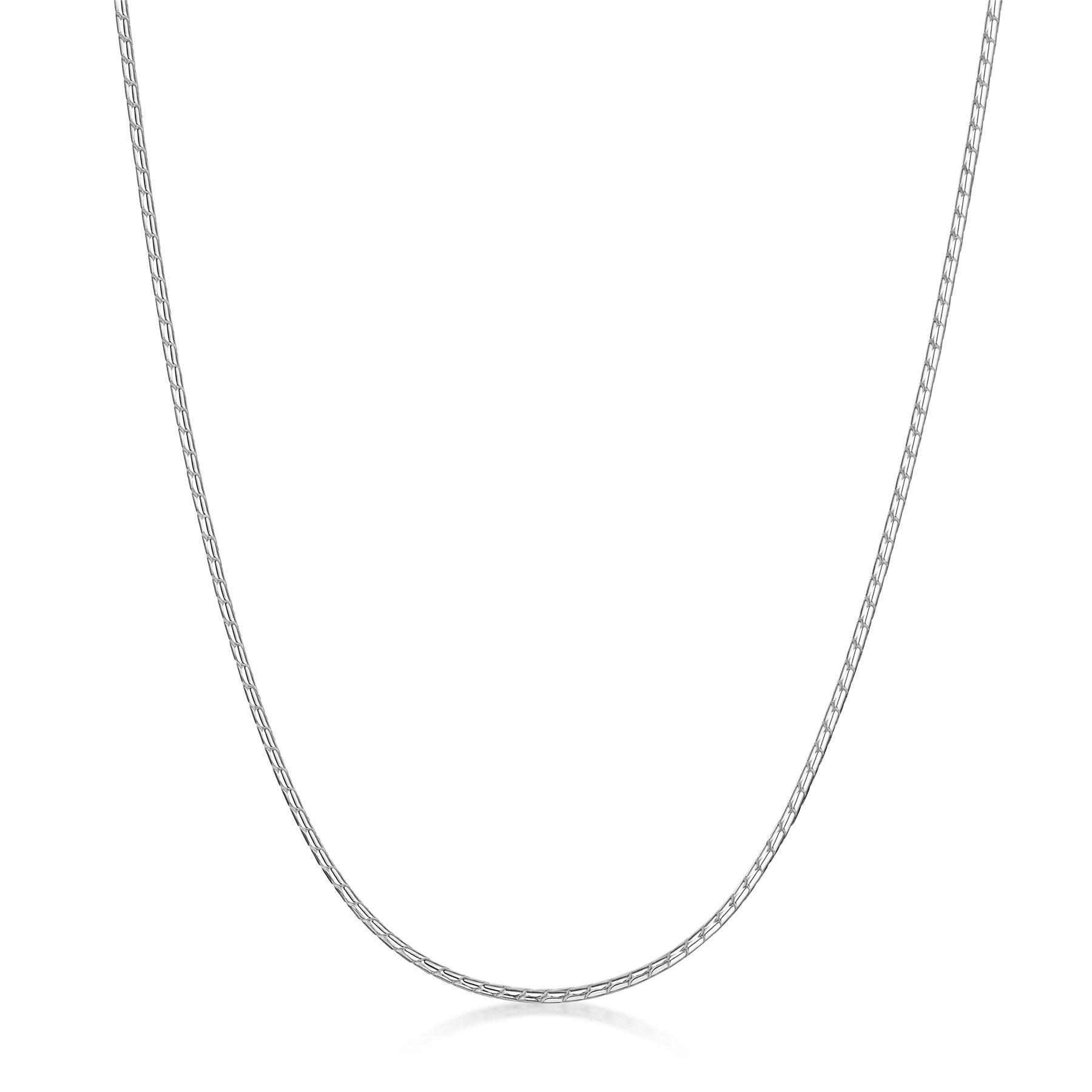 Amberta-Collar-en-Plata-De-Ley-925-Autentica-Cadena-para-Mujer-y-Hombre-Italiana miniatura 9