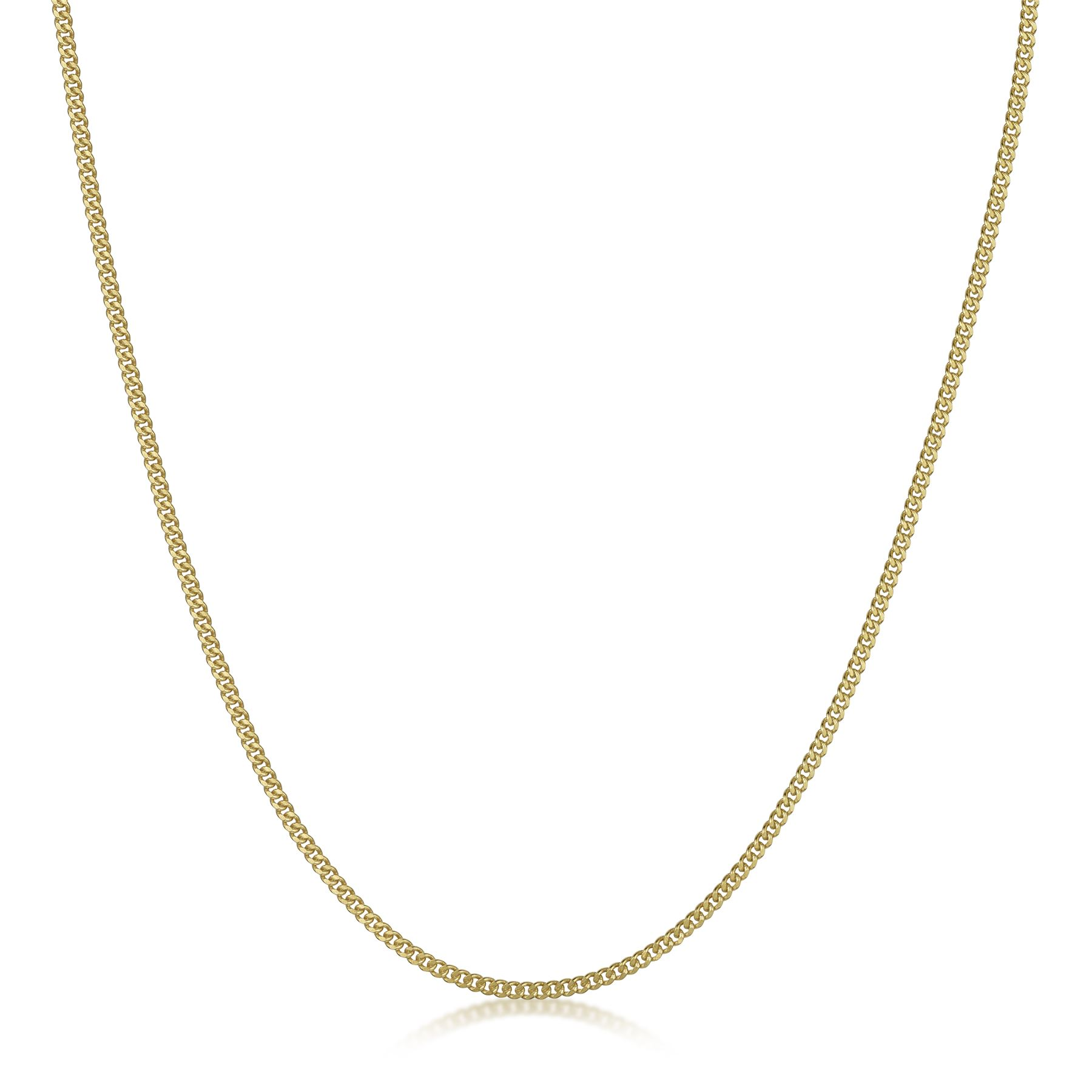 Amberta-Genuine-Gold-Plated-on-Real-925-Sterling-Silver-Necklace-Chain-Italy miniatura 11