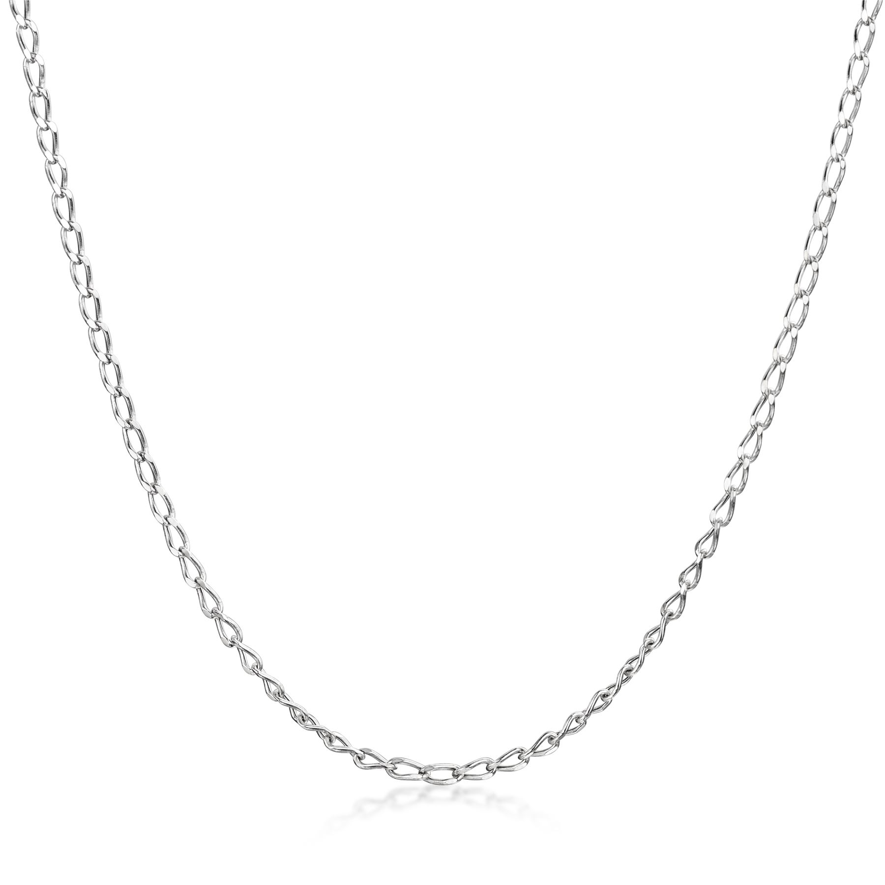 Amberta-Genuine-Solid-10k-Gold-Chain-Adjustable-Necklace-for-Women-and-Men thumbnail 3