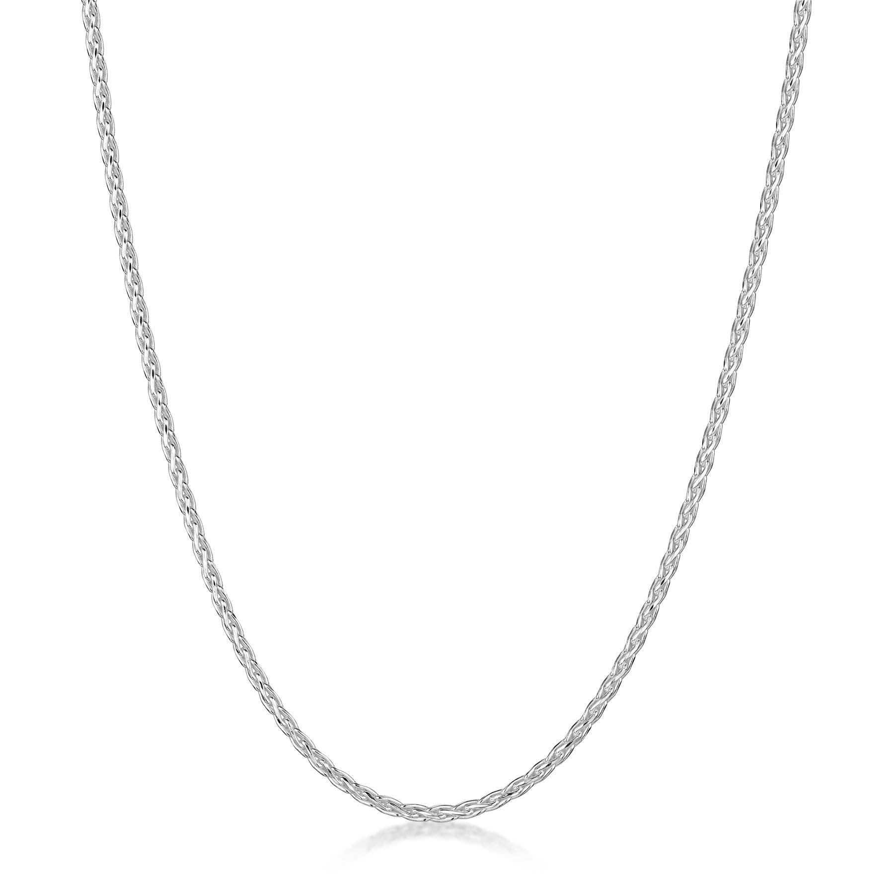 Amberta-Collar-en-Plata-De-Ley-925-Autentica-Cadena-para-Mujer-y-Hombre-Italiana miniatura 65